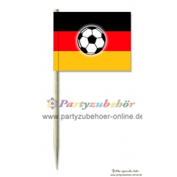 Party-picker Deutschland mit Ball,