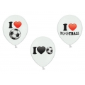 Luftballons I Love Football