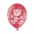 Luftballons I Love You Bear,